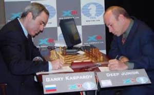 Kasparov and Junior